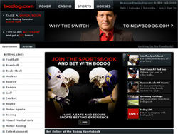 Bodog is great, so get ready to win with your first deposit!